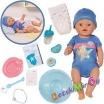 Интерактивная кукла-мальчик Baby Born, 43 см, арт. 819203