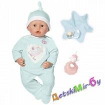 Интерактивная кукла-мальчик с мимикой Baby Annabell, 46 см, арт. 791844, Zapf, Германия