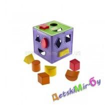 """Логический куб """"Забавные зверята"""""""