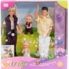 """Набор из 4 кукол """"Счастливая семья"""""""