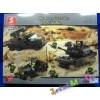 Конструктор Sluban Сухопутные войска. Артиллерия. M38-B6800, (аналог BRICK и LEGO)