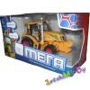 """Игрушка трансформер  """"Мега-трактор"""" на батарейках, глаза светятся."""
