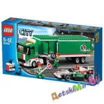 LEGOCity 60025 Грузовик Гран-при