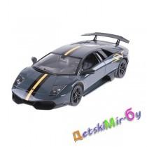 """Машинка """"Lamborghini"""" Murcielago радиоуправляемая, 1:18, серебристо-серая"""