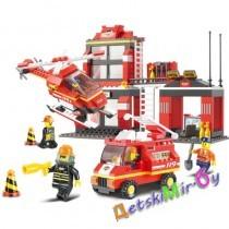 Конструктор SLUBAN Пожарные спасатели арт. M38-B0225