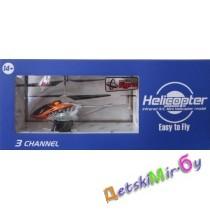 Вертолёт на радиоуправлении (оранжевый с черным)