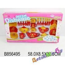 "Игрушка ""Посудка Медвежонок"", 20 предметов, размер 58*32,5*8,5"