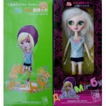 Кукла Tangkou (ТанКоу) Австралийка, шарнирная, меняет цвет глаз, с паспортом личности, аксессуарами, подставкой.