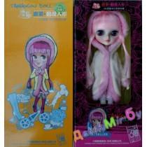 Кукла шарнирная Tangkou (ТанКоу) Итальянка, с паспортом легенды, можно менять цвет глаз, шарнирная