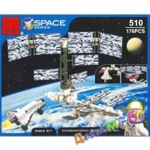 """""""Конст-р""""(Brick)  """"Интернациональная космическа станция"""" (аналог LEGO)"""