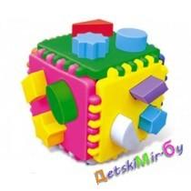 Логический куб, развивающий, логический  подарочный