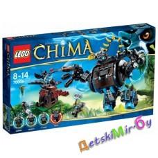LEGOLegends of Chima 70008 Боевая машина гориллы Горзана