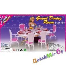 """Набор мебели для кукол """"Столовая"""" 48 предметов"""