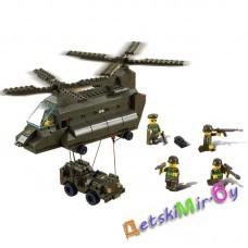 Конструктор SLUBAN Сухопутные войска арт. M38-B6600