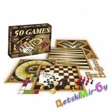 """Настольная игра """"50 видов игр для всей семьи"""""""