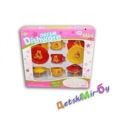 "Игрушка детская посудка ""Столовая посуда"" 10 предметов, фирма DREAM Dishware"