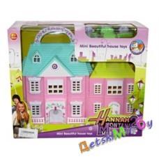Кукольный домик с мебелью и фигурками для кукол, фирма toy story