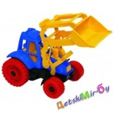 Игрушка пластмассовая Трактор с ковшом