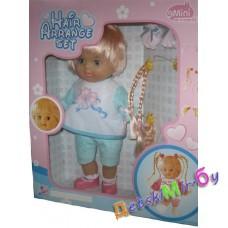 Кукла 35 см. серии Mimi, с дополнительными прядями, туловище мягконабивное