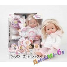 """Кукла пупс (Baby Tobi)  """"Малышка"""", функциональная, говорит, пьет, писает, кушает, можно купать"""