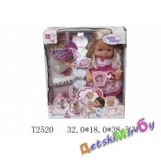 """Кукла пупс (Baby Tobi) """"Крошка"""", функциональная, кушает,  говорит, пьет, писает, можно купать"""